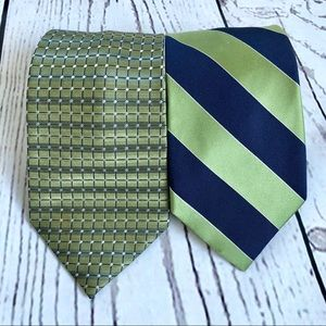 Men's bundle of 2 classic coordinated ties